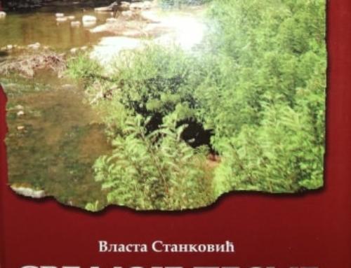 Promocija knjige Vlaste Stankovića u dvorištu Muzeja Ponišavlja