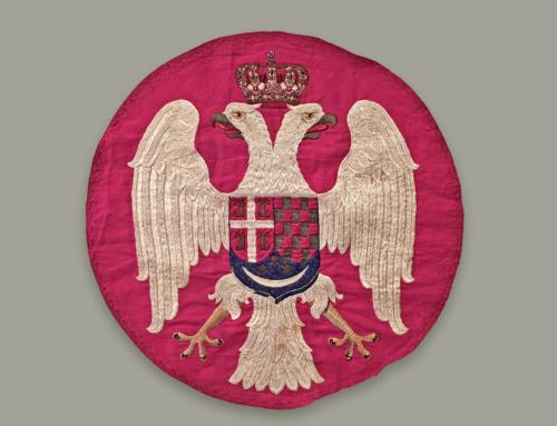 ИЗ РИЗНИЦЕ МУЗЕЈА ПОНИШАВЉА: Грб са војне заставе донете са аустријске границе 1941. године